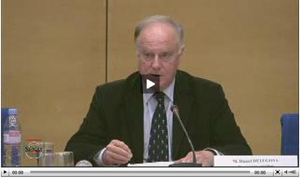 Travaux de commission Lutte contre le dopage M. Daniel DELEGOVE (Tribunal de grande instance de Valenciennes).